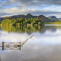 Buy canvas prints of Derwentwater - Lake District by Phil Durkin DPAGB BPE3