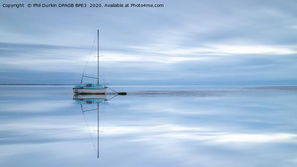 The Lytham Dream Boat Canvas Print by Phil Durkin DPAGB BPE3