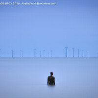 Buy canvas prints of Crosby Statue - Life's A Breeze by Phil Durkin DPAGB BPE3
