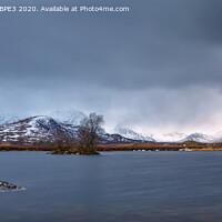 Buy canvas prints of Lochan na h-Achlaise Scotland by Phil Durkin DPAGB BPE3