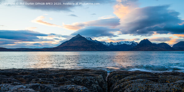 The Cuillin Mountains Acrylic by Phil Durkin DPAGB BPE3