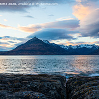 Buy canvas prints of The Cuillin Mountains by Phil Durkin DPAGB BPE3