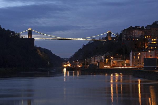 Bristol Suspension Bridge Canvas print by Gary Morris