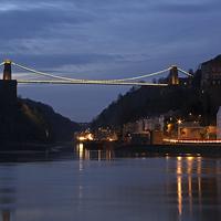 Buy canvas prints of  Bristol Suspension Bridge by Gary Morris