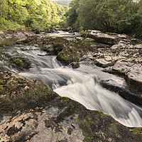 Buy canvas prints of River Dart by Pete Holyoak