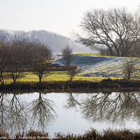 Buy canvas prints of Reflections by Pete Holyoak