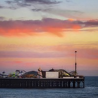 Buy canvas prints of End of the pier Brighton  by Beryl Curran
