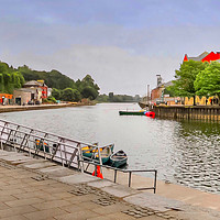 Buy canvas prints of Exeter Quay  by Beryl Curran