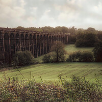 Buy canvas prints of Ouse Valley Viaduct  by Beryl Curran