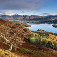 Buy canvas prints of  Autumnal Lakeland, Cumbria, England.  by John finney