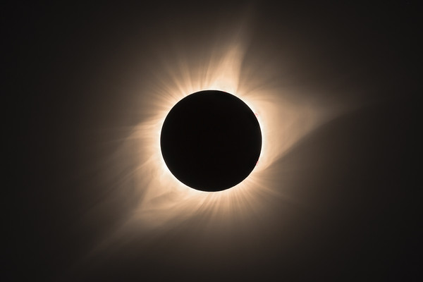 Totality  Canvas print by John finney