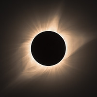 Buy canvas prints of Totality  by John finney