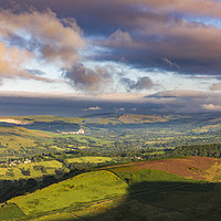 Buy canvas prints of The Rolling Hills of the Peak District  by John Finney