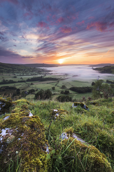 Hope Valley September sunrise Acrylic by John Finney