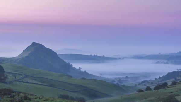 Chrome Hill Dawn Acrylic by John Finney