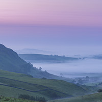 Buy canvas prints of Chrome Hill Dawn by John Finney