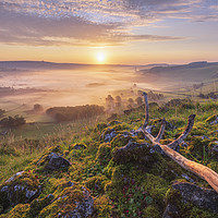 Buy canvas prints of British landscape in the Peak District by John Finney