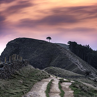 Buy canvas prints of Back Tor sunrise, from The Great Ridge by John Finney