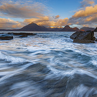 Buy canvas prints of Elgol to The Cullins by John Finney