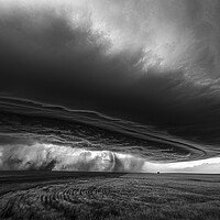Buy canvas prints of Weather Vacuum (Mono). by John Finney