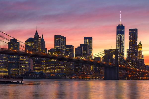 NEW YORK CITY 34 Canvas print by Tom Uhlenberg