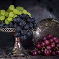 Buy canvas prints of Vintage grapes by Beata Aldridge