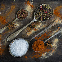Buy canvas prints of The world of spices by Beata Aldridge