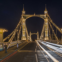 Buy canvas prints of Albert Bridge by Beata Aldridge