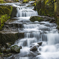 Buy canvas prints of Lumsdale Falls by Beata Aldridge