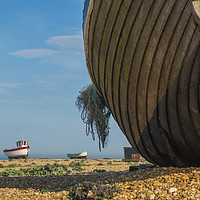Buy canvas prints of Fishing Boats by Chris Pickett