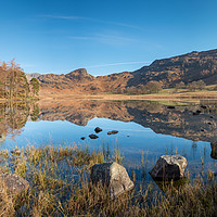 Buy canvas prints of Blea Tarn 2 by John Ealing