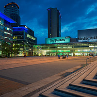 Buy canvas prints of Media City by John Ealing