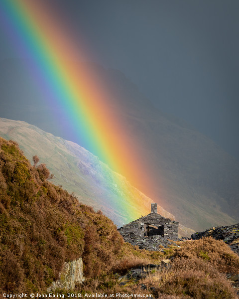Crock of gold? Framed Print by John Ealing