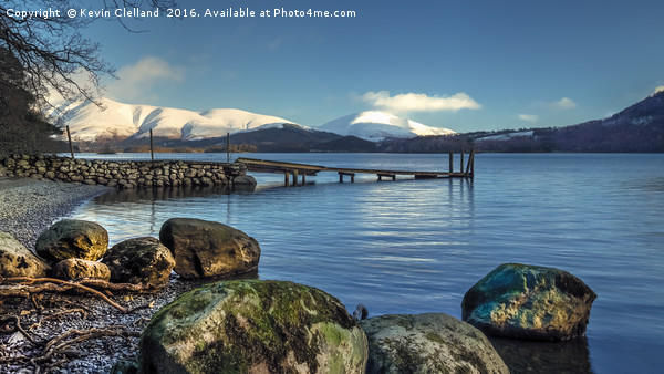 Derwent Water View Canvas print by Kevin Clelland