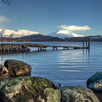 Buy canvas prints of Derwent Water View by Kevin Clelland