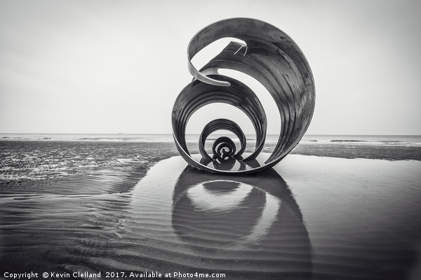 Mary's Shell Canvas print by Kevin Clelland