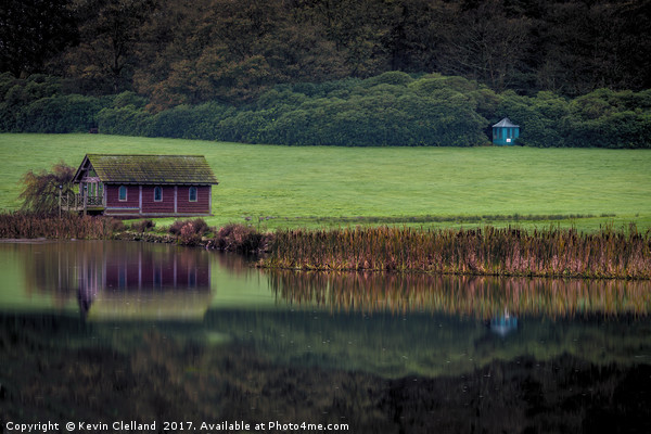 Boat House Canvas print by Kevin Clelland