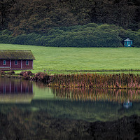 Buy canvas prints of Boat House by Kevin Clelland