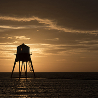 Buy canvas prints of   Morning at Dovercourt Bay by Rob Woolf
