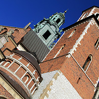 Buy canvas prints of The Cathedral Basilica of St Stanislaw Vaclav  by David Chennell