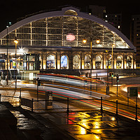 Buy canvas prints of Lime Street Station Liverpool  by David Chennell