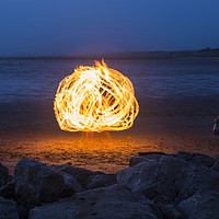 Buy canvas prints of Fireball  by David Chennell