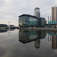 Buy canvas prints of Media City  by David Chennell