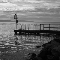 Buy canvas prints of West Kirby Jetty by David Chennell
