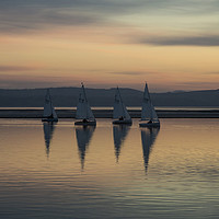 Buy canvas prints of Marine Lake Magic  by David Chennell