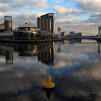 Buy canvas prints of Salford Quays   by David Chennell