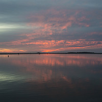 Buy canvas prints of West Kirby Cloudscape       by David Chennell