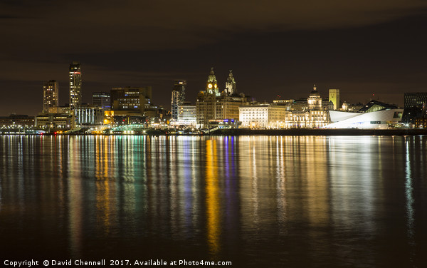 Liverpool Waterfront  Canvas print by David Chennell