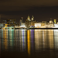 Buy canvas prints of Liverpool Waterfront  by David Chennell