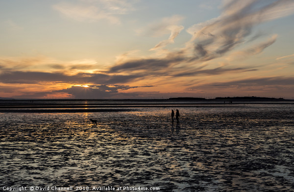 West Kirby Sunset Dreams   Canvas print by David Chennell